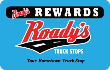 roady's rewards